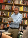 Elmusa reads at Gulf of Maine Books, August 2014